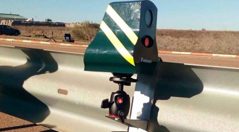 Radar Velolaser guardarrail