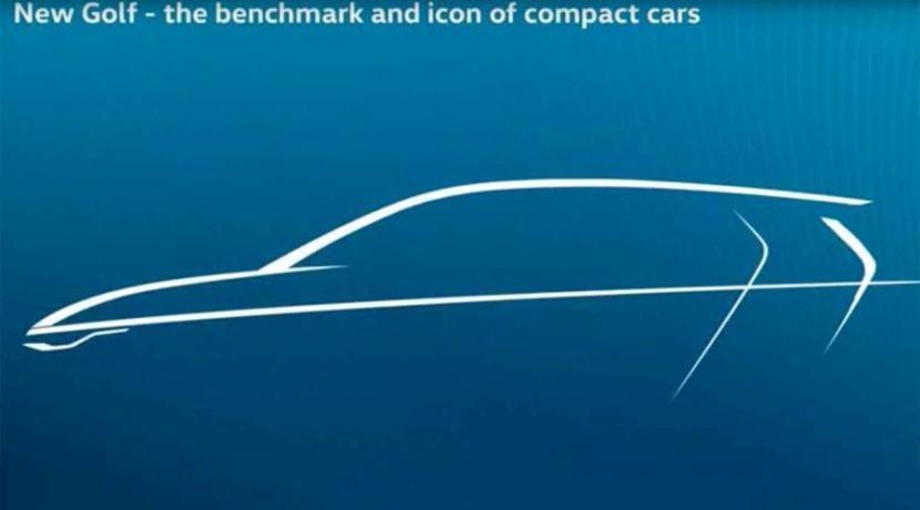 Volkswagen Golf Mk8 teaser