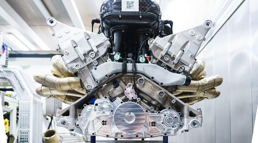 Motor V12 de 6.5 litros con 1.000 CV del Aston Martin Valkyrie