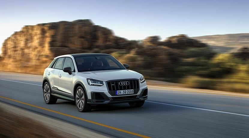 Audi SQ2 dinámica