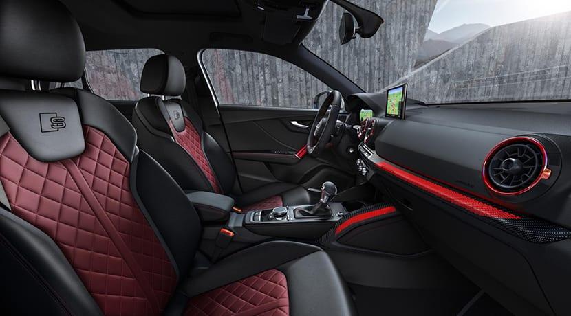 Audi SQ2 asientos