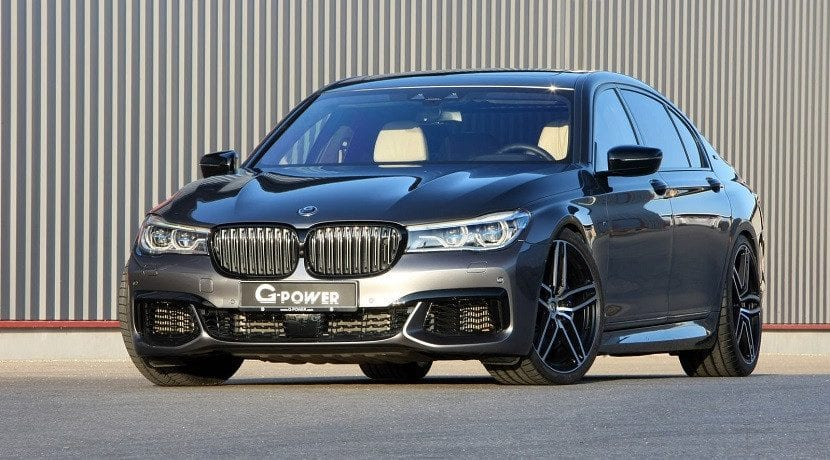 Frontal del BMW M760Li G-Power