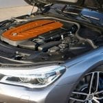 Motor del BMW M760Li G-Power