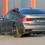 Trasera del BMW M760Li G-Power