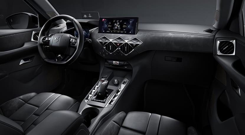 DS 3 Crossback diseño interior