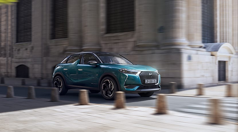 DS 3 Crossback perfil