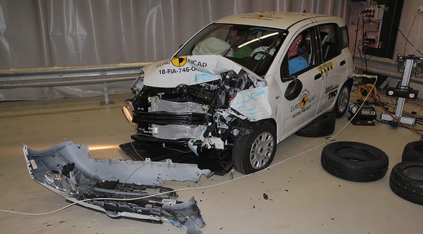 Fiat Panda 0 estrellas Euro NCAP