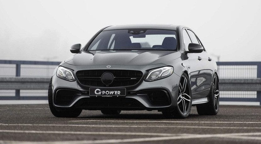 Frontal del Mercedes-AMG E 63 S 4Matic+ G-Power