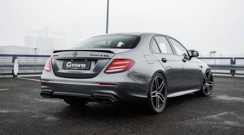 Trasera del Mercedes-AMG E 63 S 4Matic+ G-Power