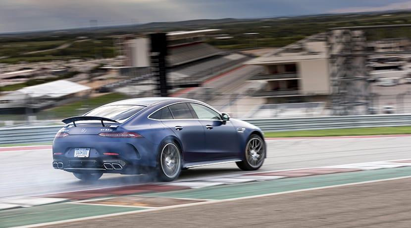 Mercedes-AMG GT 4 Puertas drift