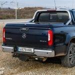 Caja del Mercedes Clase X