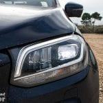 Faros LED del Mercedes Clase X