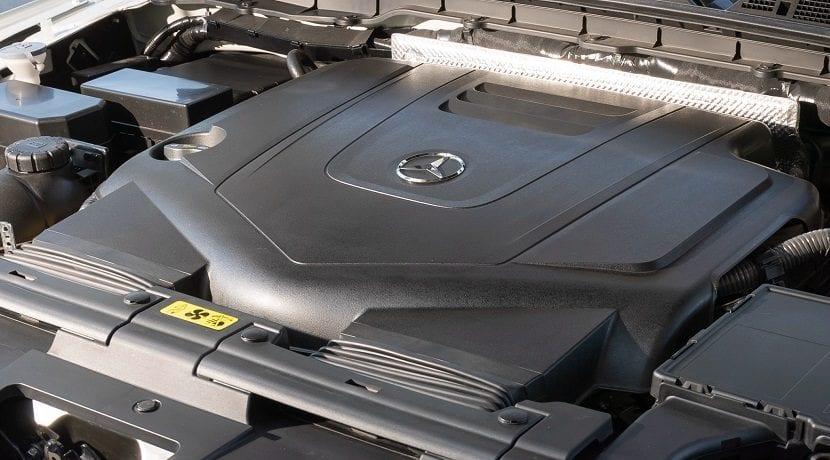 Motor V6 diésel del Mercedes Clase X