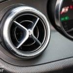 Salida de aire del Mercedes Clase X