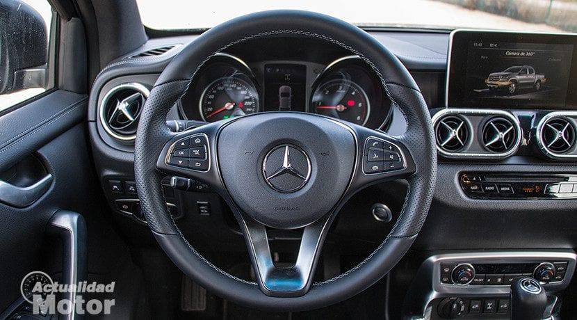 Volante del Mercedes Clase X