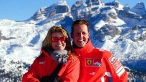 Michael y Corinna en los Alpes