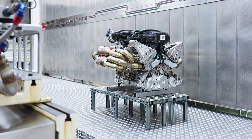 Motor V12 con 1.000 CV del Aston Martin Valkyrie