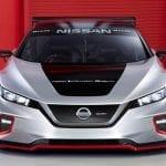 Frontal dle Nissan Leaf Nismo RC