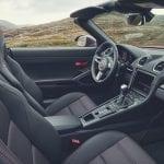Interior del Porsche 718 Boxster T