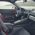 Interior del Porsche 718 Cayman T