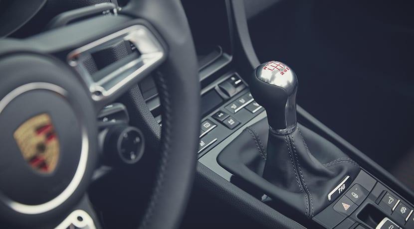 Porsche 718 T palanca de cambios manual
