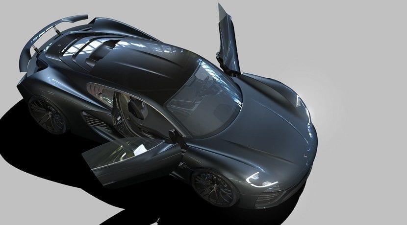 Techo del Porsche 988