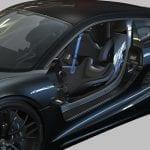 Porsche 988 Vision sin puertas