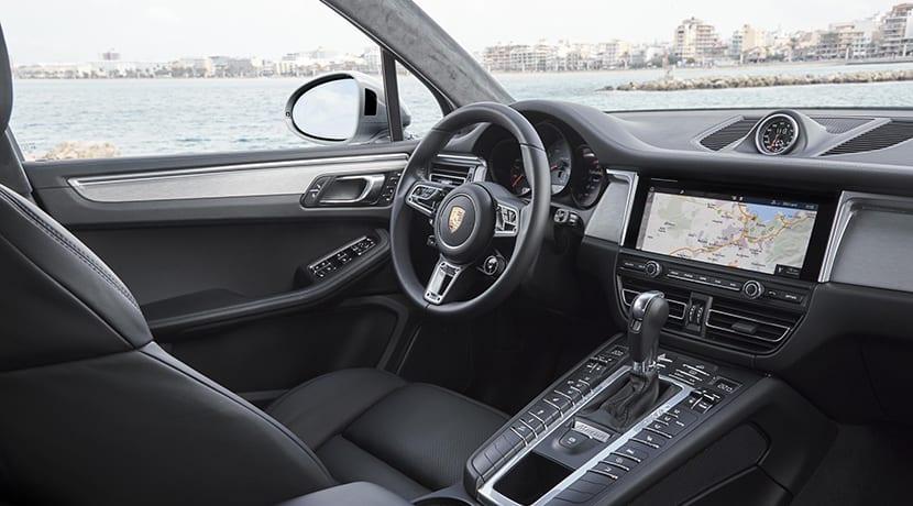 Interior del Porsche Macan S