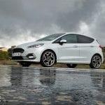 Prueba Ford Fiesta ST lateral