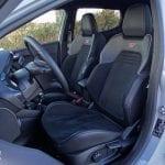 Prueba Ford Fiesta ST asientos