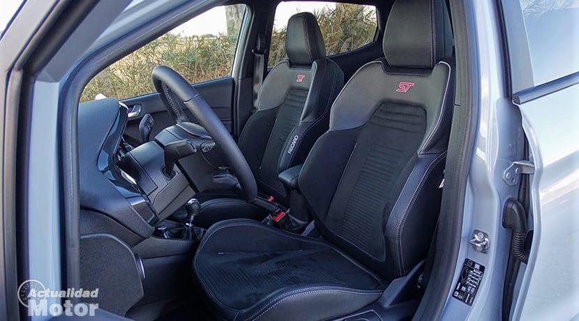 Asientos Recaro del Ford Fiesta ST