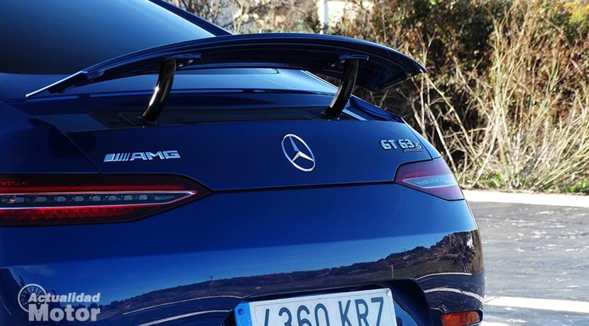 Alerón trasero activo del Mercedes-AMG GT 63 S 4 Puertas