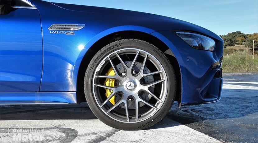 Llanta y frenos del Mercedes-AMG GT 63 S 4 Puertas Coupé