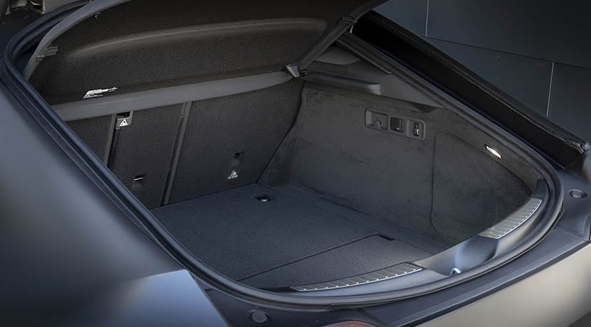 Maletero del Mercedes-AMG GT 4 puertas