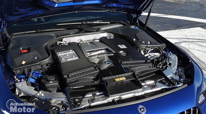 Motor V8 biturbo 4.0 Mercedes-AMG GT 4 Puertas