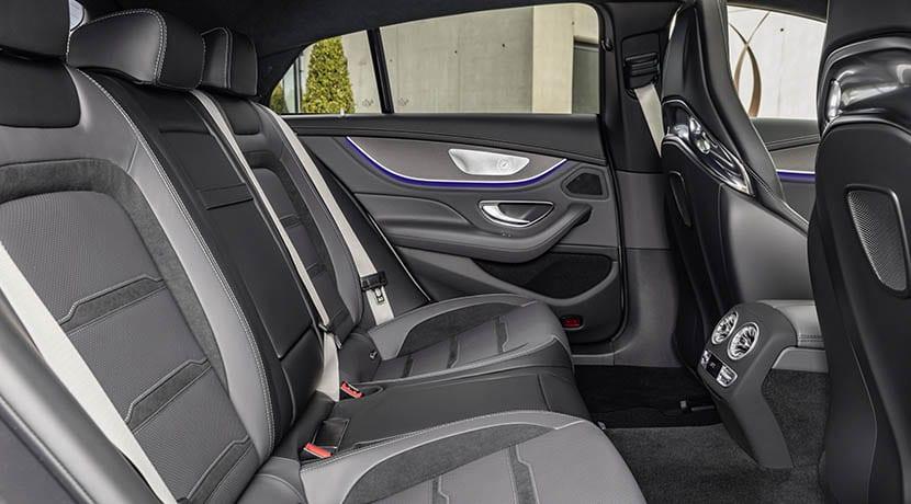 Plazas traseras Mercedes-AMG GT 4 puertas Coupé