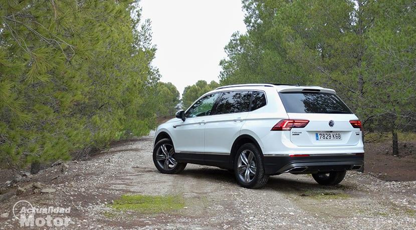Prueba Volkswagen Tiguan Allspace dinámica
