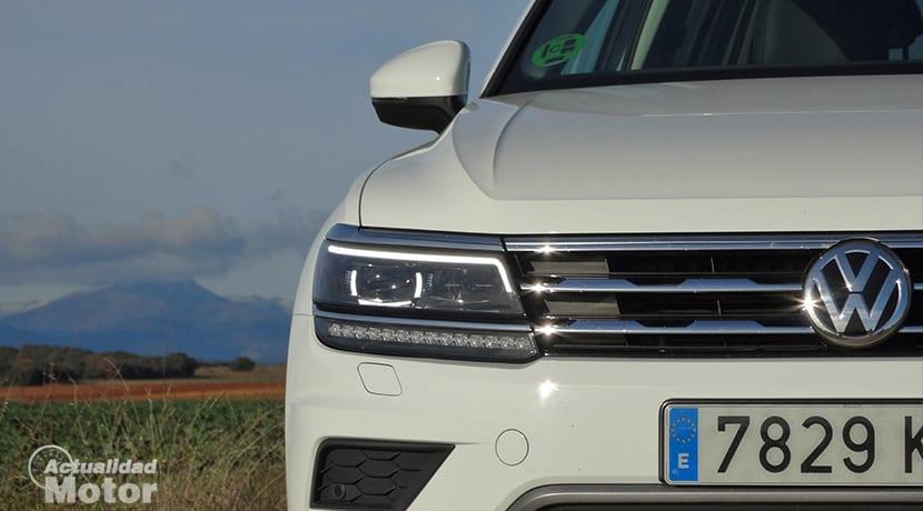 Equipamiento Volkswagen Tiguan Allspace faros de LED