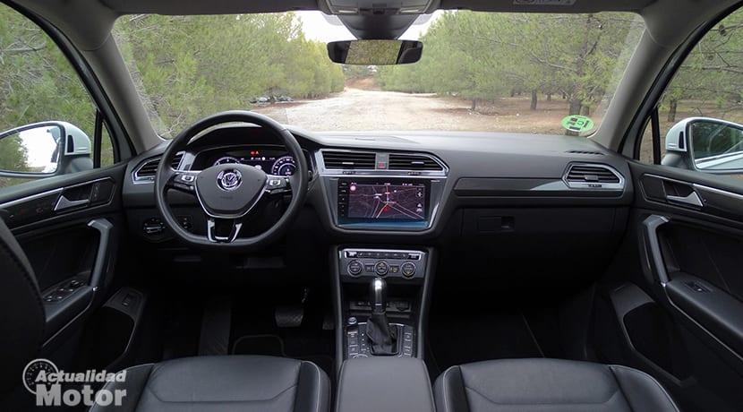 Diseño interior salpicadero Volkswagen Tiguan Allspace