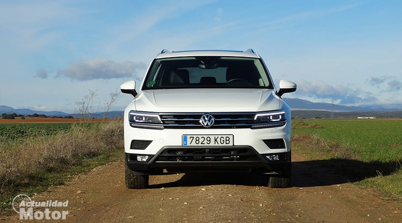 Frontal Volkswagen Tiguan Allspace