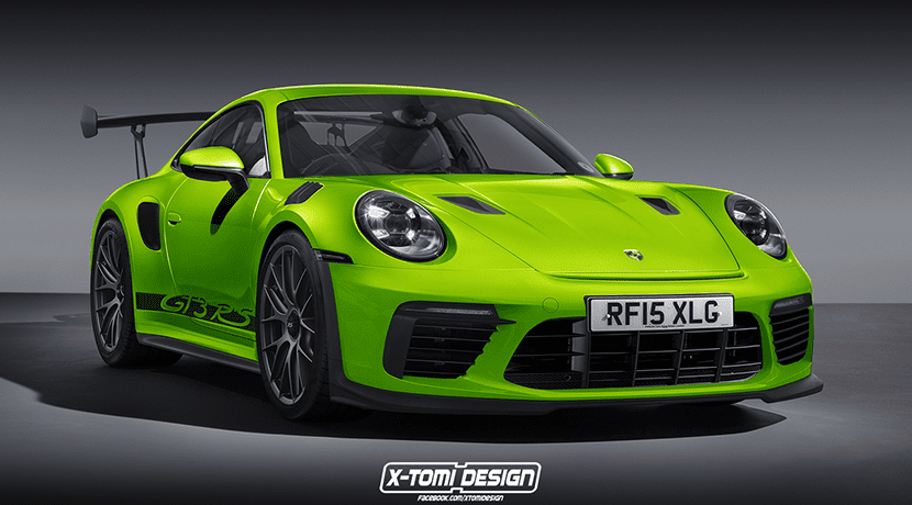 Render Porsche 911 GT3 RS