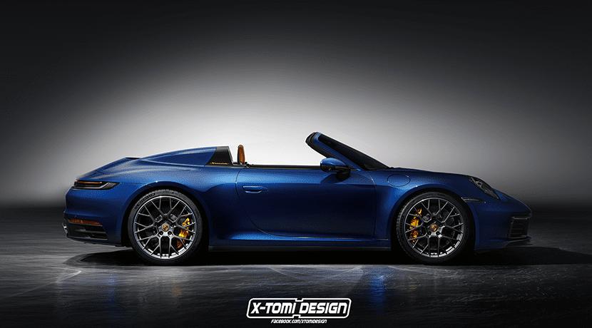 Render Porsche 911 Carrera Speedster