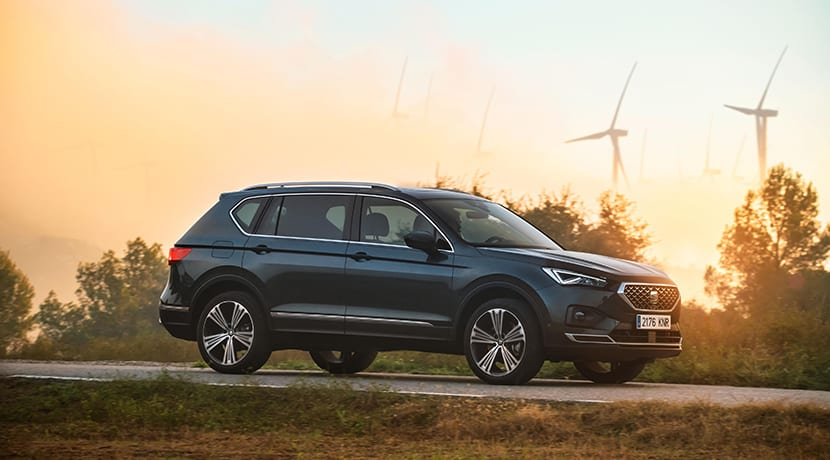 Seat Tarraco lateral