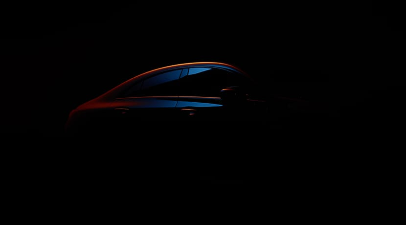 Teaser del Mercedes CLA