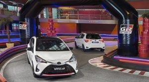 Toyota Yaris GR-Sport delantera y trasera