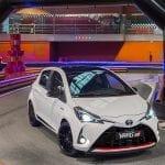 Toyota Yaris GR-Sport perfil delantero