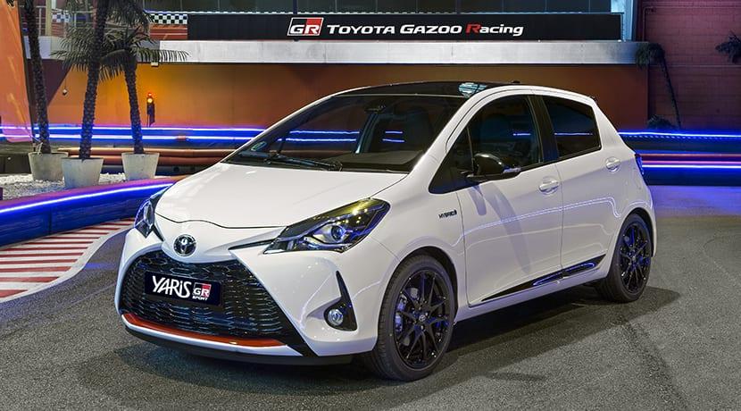 Toyota Yaris GR-Sport perfil