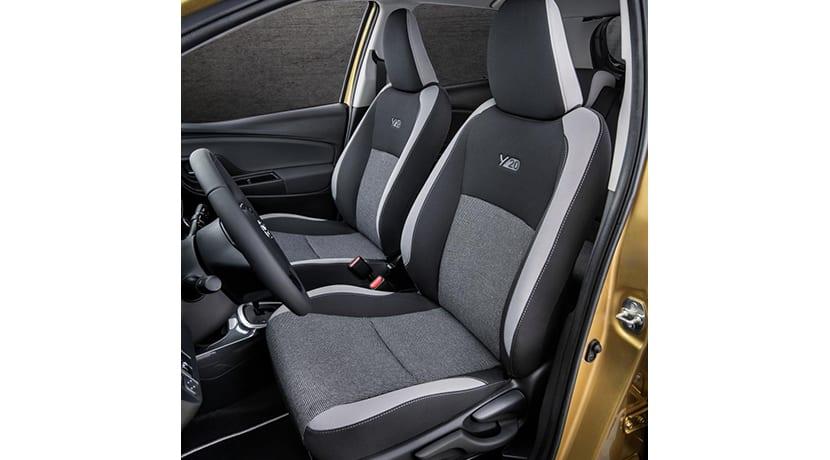Toyota Yaris Y20 asientos