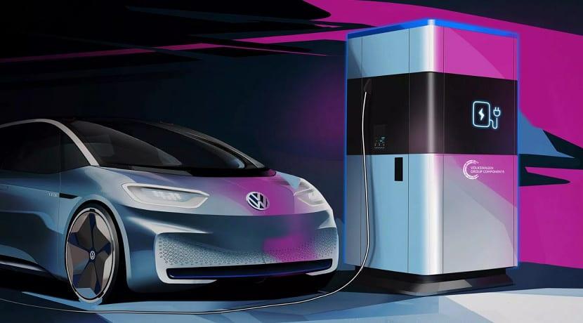 Cargadores Volkswagen de 360 kWh
