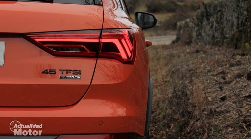 Audi Q3 45 TFSI quattro Stronic motorización